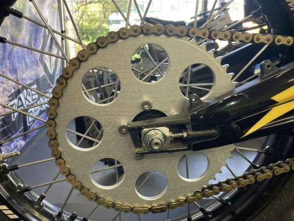 58T Sprocket and Chain scaled 1